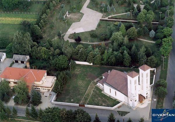 Szent Anna templom felülrõl